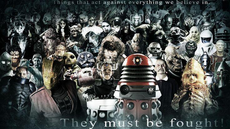 dr who fantasy art | Hd Desktop Wallpaper - dalek cybermen ood doctor who silence villians ...