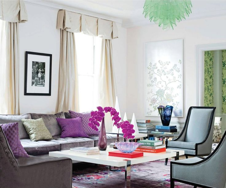 Living Room Ideas Purple And Grey 704 best decor - purples/violets images on pinterest | purple