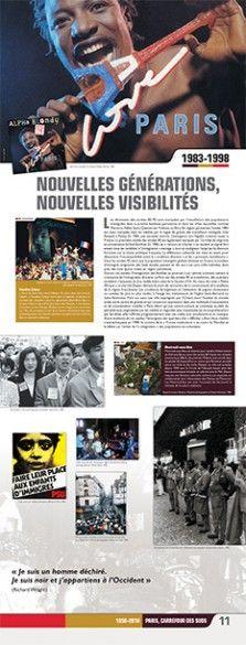 N°11 : Nouvelles générations, nouvelles visibilités. Les décennies des années 80-90 sont marquées par l'installation des populations immigrées dans la proche banlieue parisienne et dans les villes nouvelles comme Marne-la-Vallée, Saint-Quentin-en-Yvelines ou Évry. En région parisienne, l'année 1983 est aussi marquée, dans les médias, par la vague de grèves des travailleurs immigrés chez Renault à Poissy. © Groupe de recherche Achac