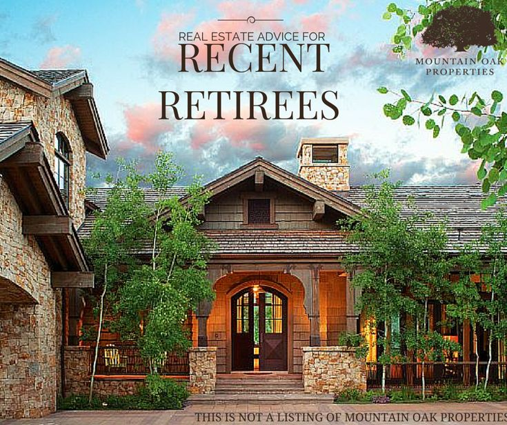 Retirees often times decide to relocate after retirement; whether that means downsizing their home or relocating to a whole new community. Renovations are also starting to become a hit with seniors, due to them making their new home more accessible.