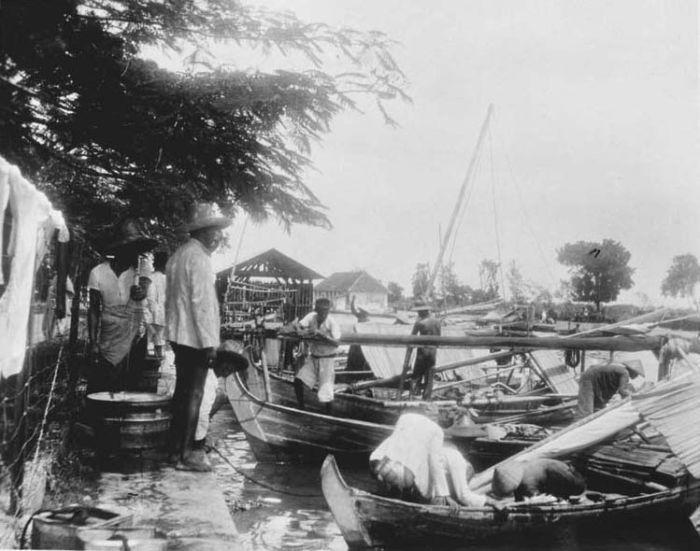 Batavia: Pasar Ikan, 1932