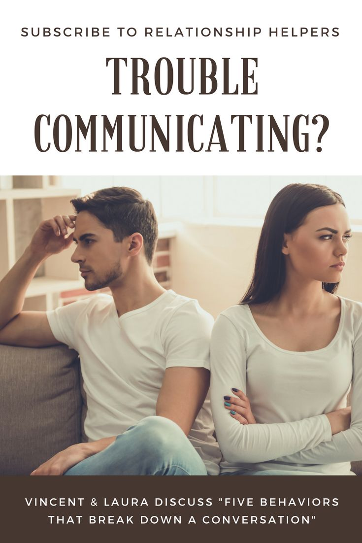 relationship communication break downs in organizations