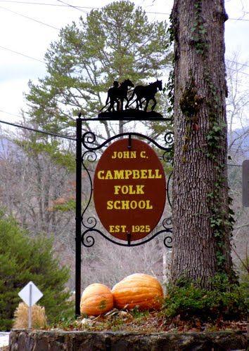 John C. Campbell Folk School - a class here is on my bucket list!