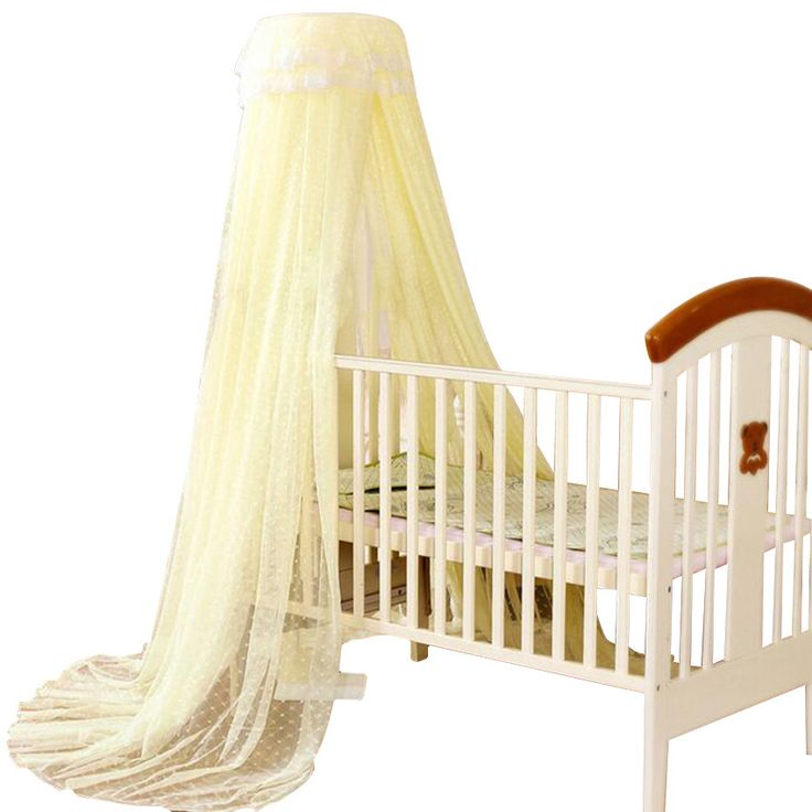 2016 Baby Crib Cot Insect Mosquitoes Wasps Flies Net for Infant Bed Folding Crib Netting Child Baby Mosquito Nets 4 Color Choose
