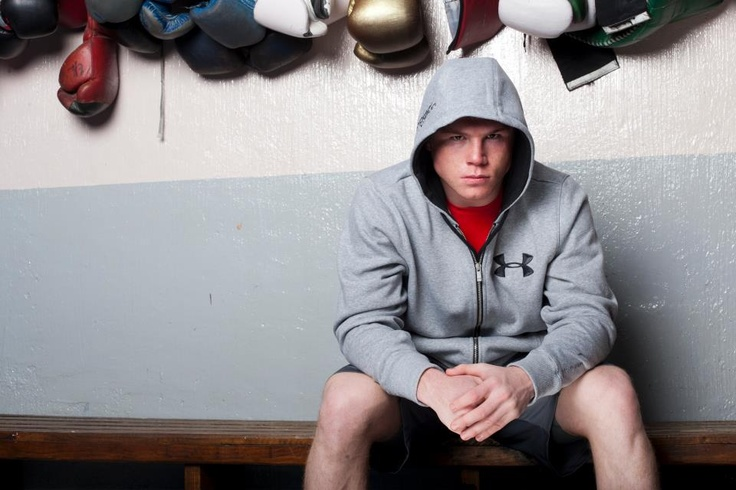"""Saul """" Canelo """" Alvarez, new member of the Under Armour Family. 21 years old and already world champion with 29 knockout and 0 defeat."""