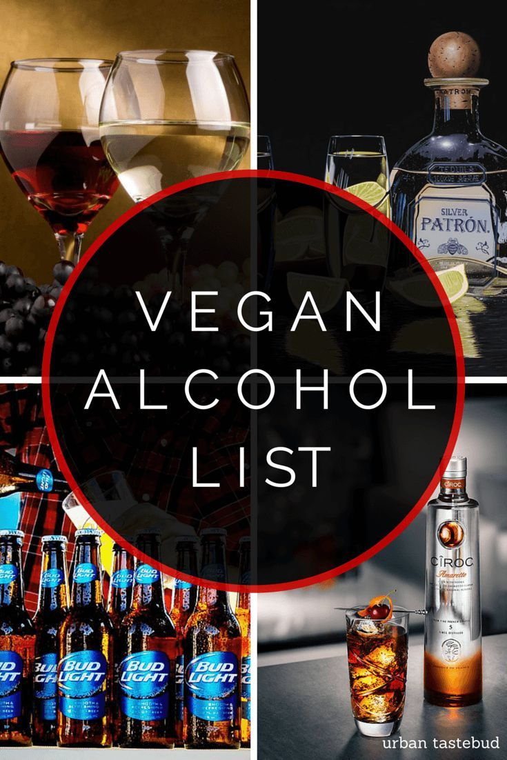 Discover which beers, ciders, hard liquors, and other alcoholic beverages are 100% vegan in this comprehensive listing! PERXFOOD.COM