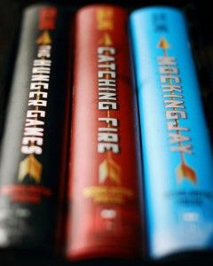 The Hunger Games Series. Which I'm currently reading