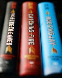 De boeken reeks die geschreven is door Suzanne Collins
