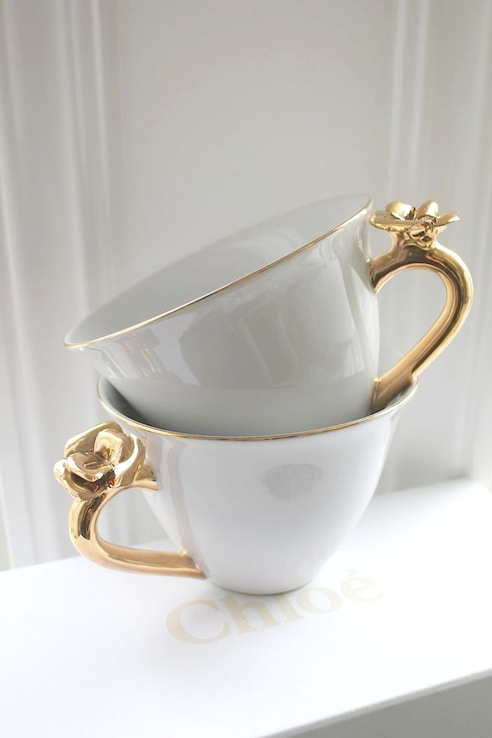 Ana Rosa Teacups - Simple, but incredibly elegant.