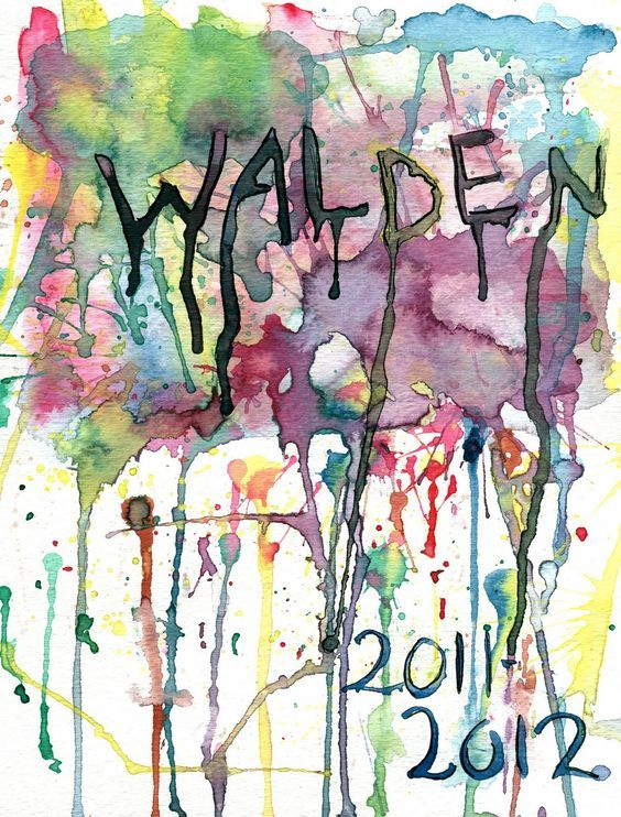 yearbook design Walden 2011-2012 //Possibility for Art Club/art ...