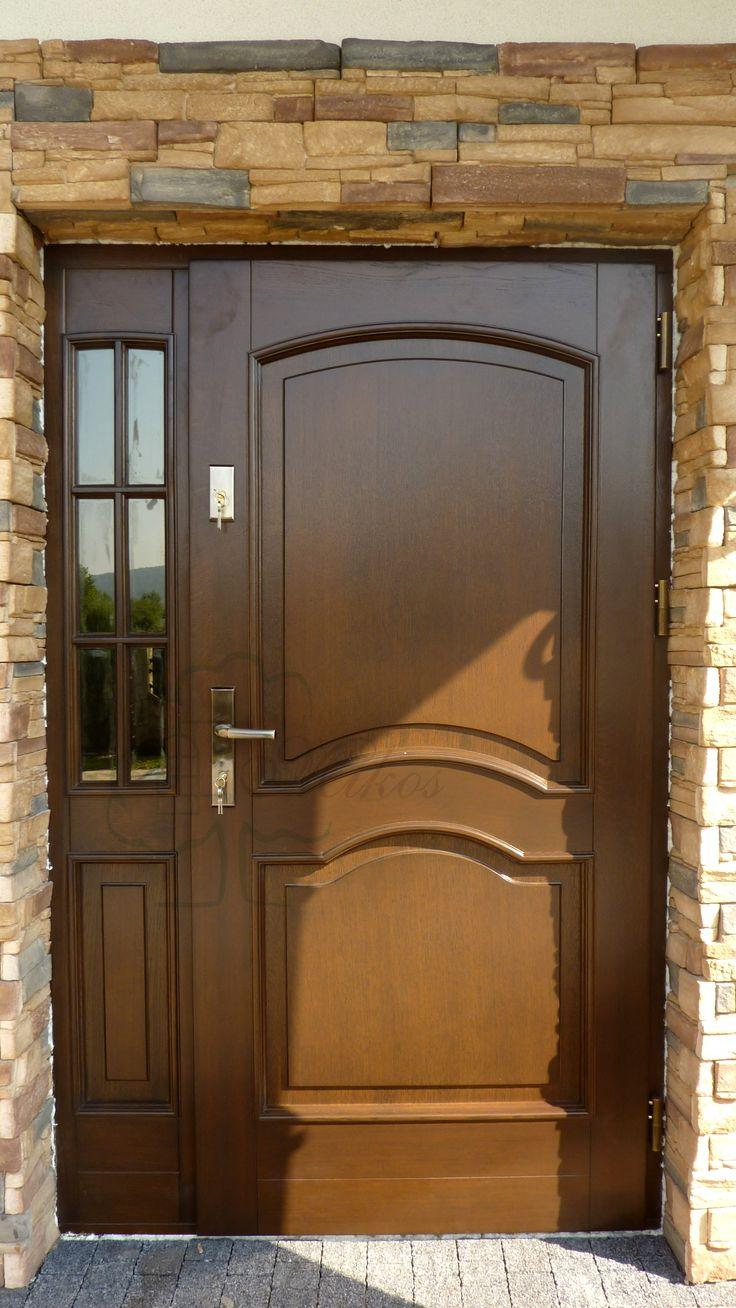 Drzwi zewnętrzne stylowe