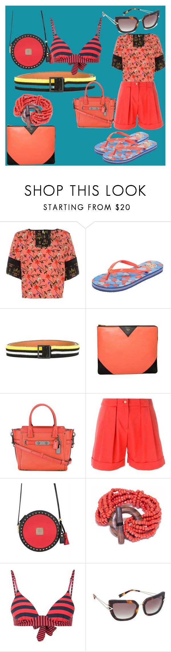 """set sale alert"" by denisee-denisee ❤ liked on Polyvore featuring Etro, Tory Burch, Ermanno Scervino, CÉLINE, Coach, Cacharel, MCM, STELLA McCARTNEY, Kendall + Kylie and vintage"