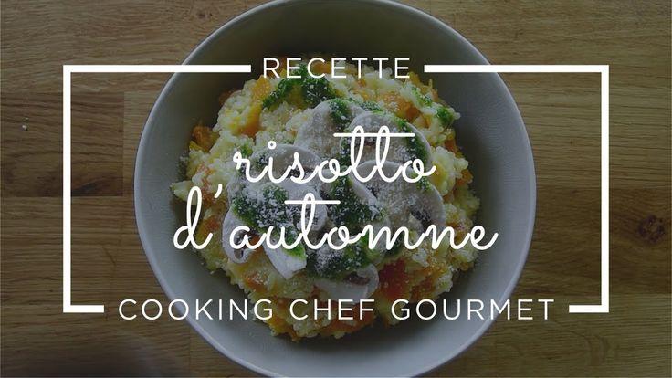 Rectte de risotto d'automne au pistou de persil plat au Cooking Chef Gou...