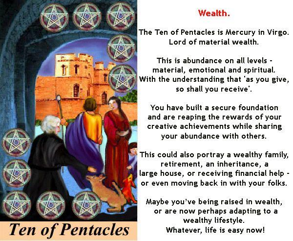 TEN OF PENTACLES Http://www.poojasaxena.co.in