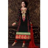 valehri-black-stunning-embroidered-georgette-salwar-suit-with-dupatta