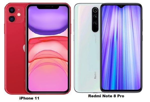 Iphone 11 Vs Xiaomi Redmi Note 8 Pro Specs Comparison Spatial Audio Iphone 11 Xiaomi