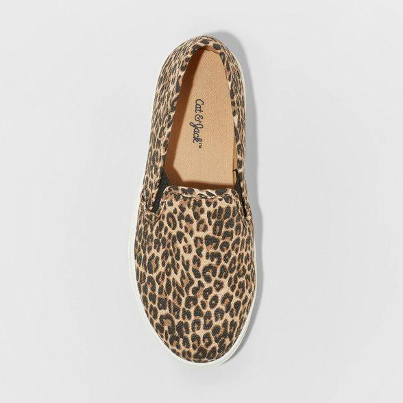 Girls' Aida Leopard Print Slip-On