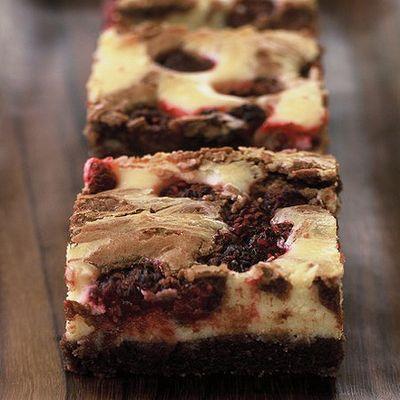 Málnás sajttorta brownie recept