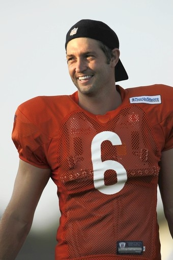 Jay Cutler. The only reason to love the Bears :)