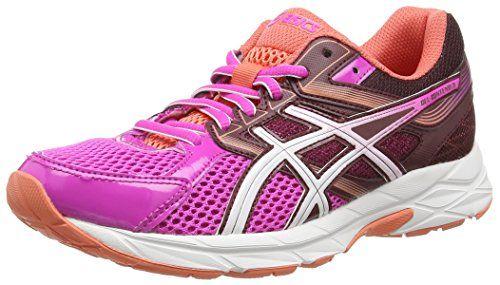 Asics Gel-contend 3, Damen Laufschuhe, Pink (pink Glow/white/royal Burgundy 3501), 38 EU - http://uhr.haus/asics/asics-gel-contend-3-damen-laufschuhe-pink-pink-38