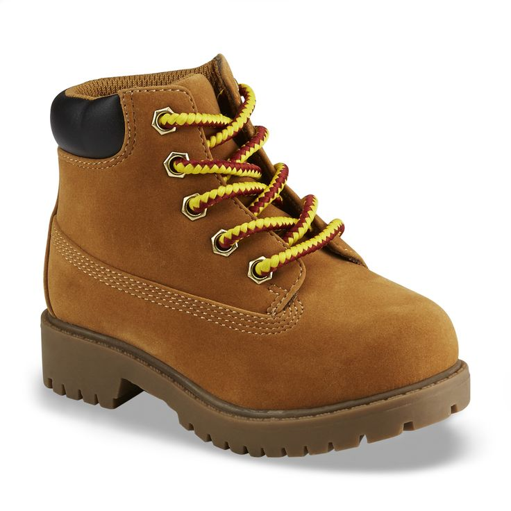 Route 66 Toddler Boy's Rad Wheat Ankle Boot