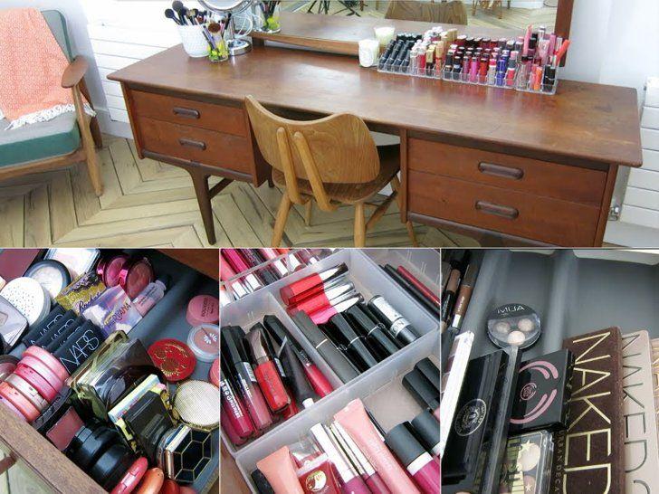 Pin for Later: Inspirez Vous de Ces 13 Blogueuses Beauté Pour Bien Organiser Votre Maquillage Estée Lalonde