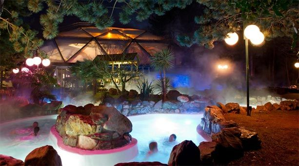 Subtropical Swimming Paradise Sherwood Forest Center Parcs Themed Interior Design