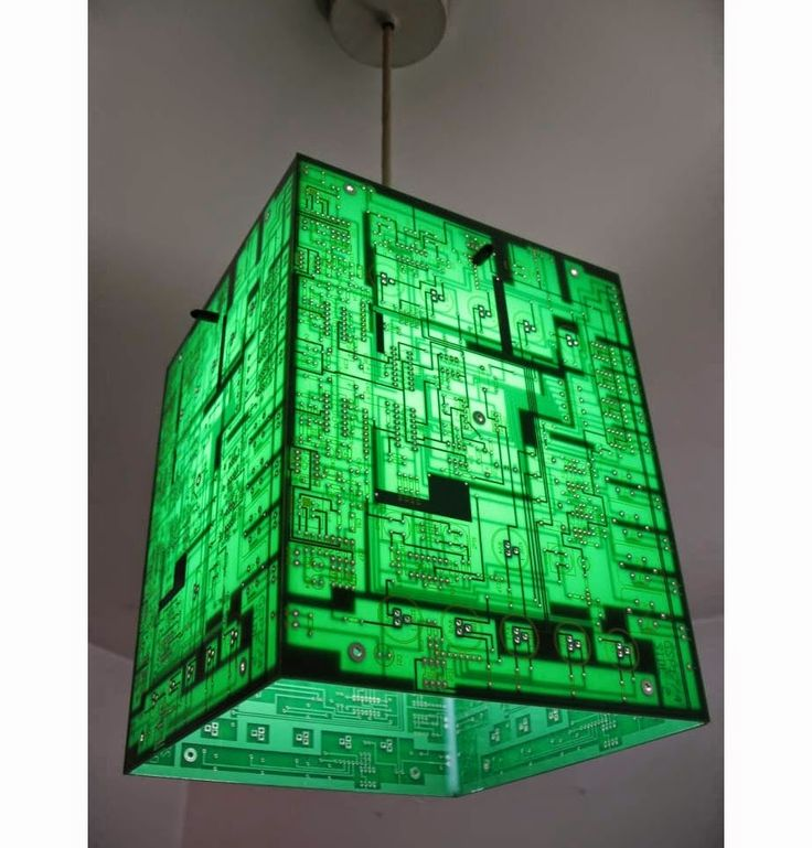Recycled Circuit Board Creations