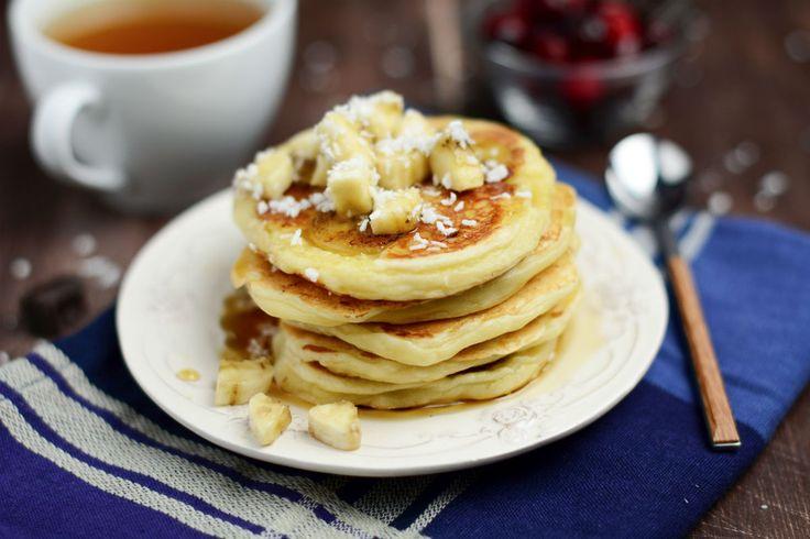 Low-Carb-Pancakes mit Banane #nu3 #frühstück