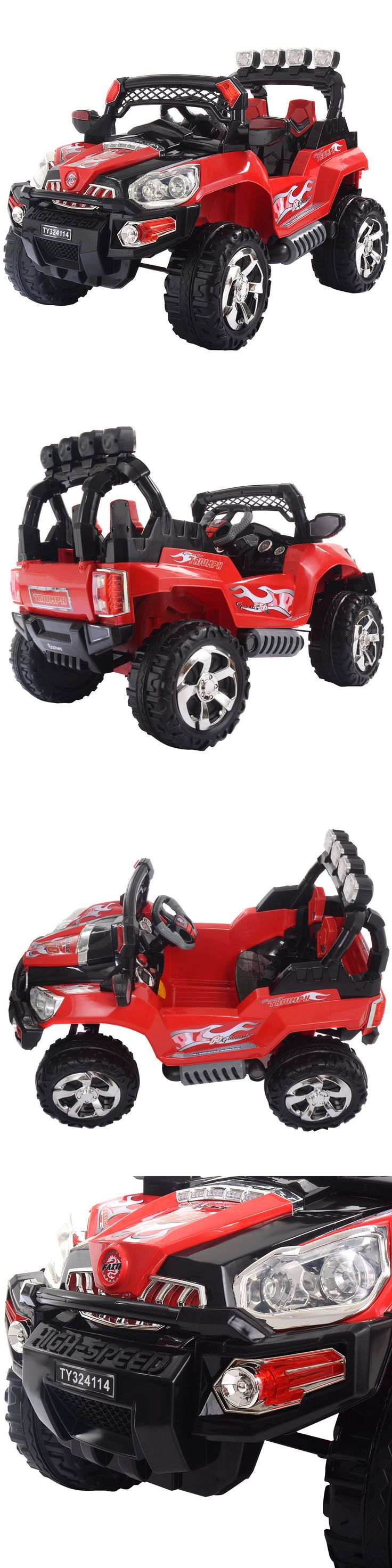 Ride On Toys and Accessories 145944: 12V Kids Ride On Truck Car Suv Mp3 Rc Remote Control W Led Lights Music -> BUY IT NOW ONLY: $179.95 on eBay!