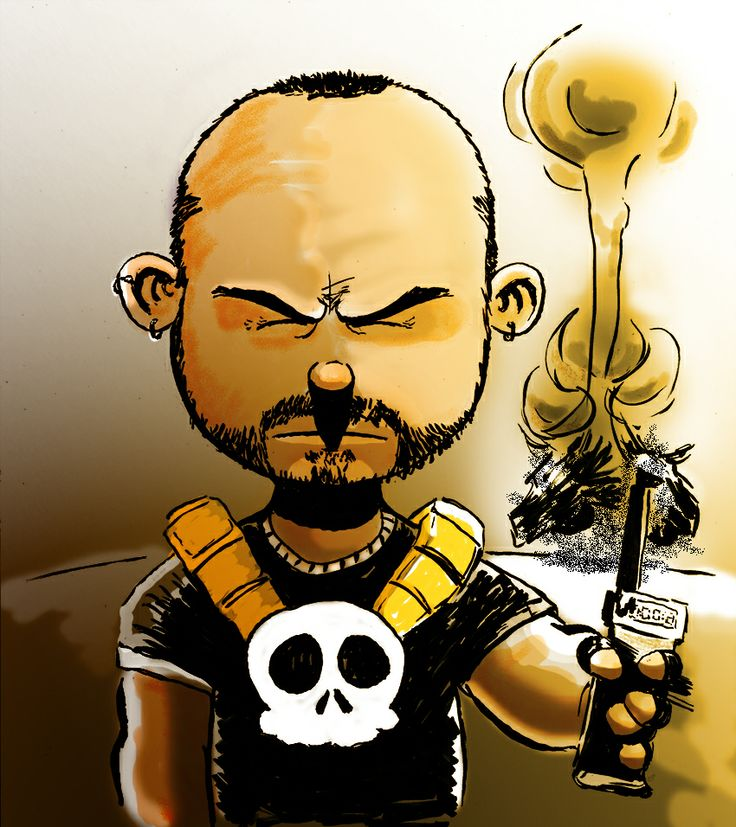 Autoretrato como The Punisher