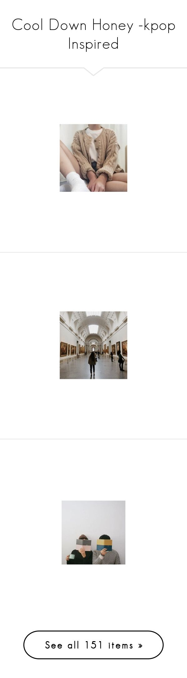 """""""Cool Down Honey -kpop Inspired"""" by blue-kiwi ❤ liked on Polyvore featuring pictures, brown, icons, people, filler, photos, backgrounds, pics, art and filler photos"""