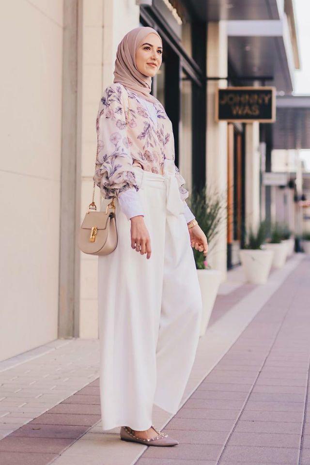أفضل أنماط الحجاب للفتيات القصيرات لتبدو طويلة Hijab Fashion Fashion Short Girls