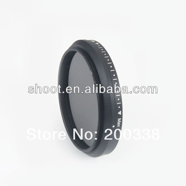 wholesale photography supplies for FOTGA 46mm Slim Fader Neutral Density ND filter Variable Adjustable ND2 to ND400 $5~$7.5