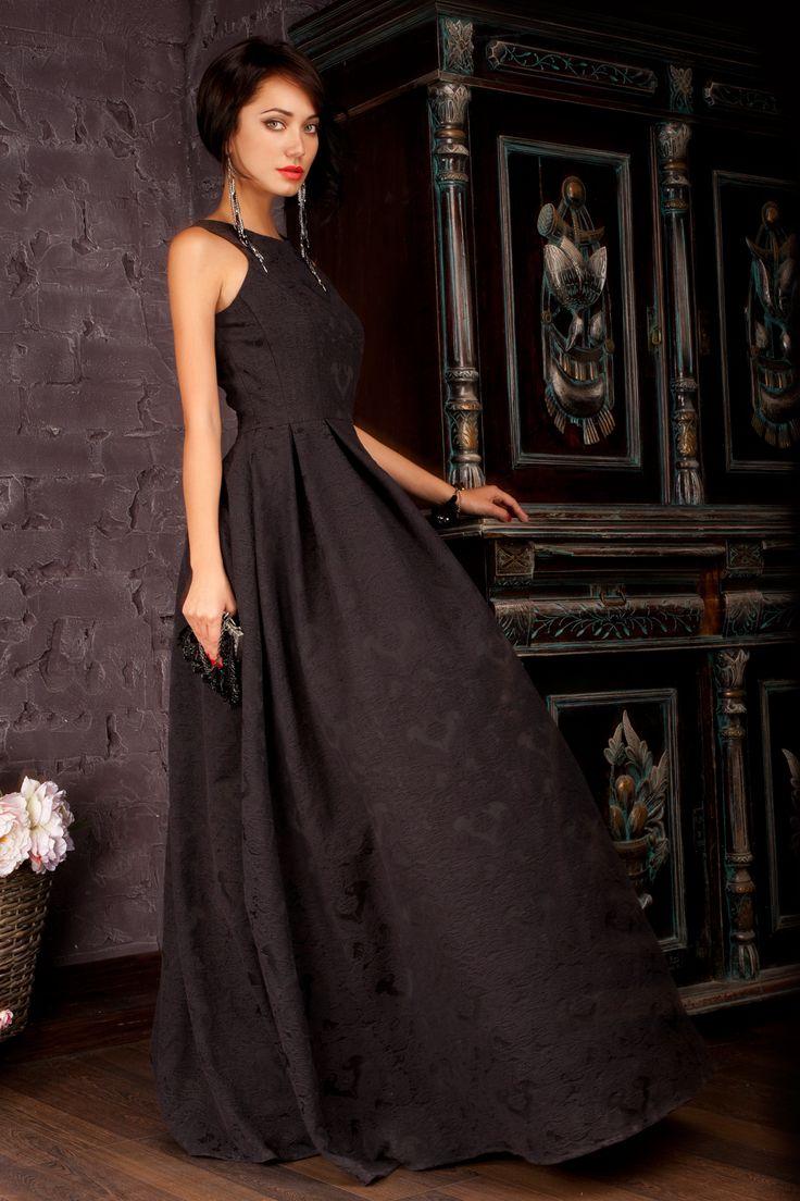 черное платье в пол пышное - Поиск в Google