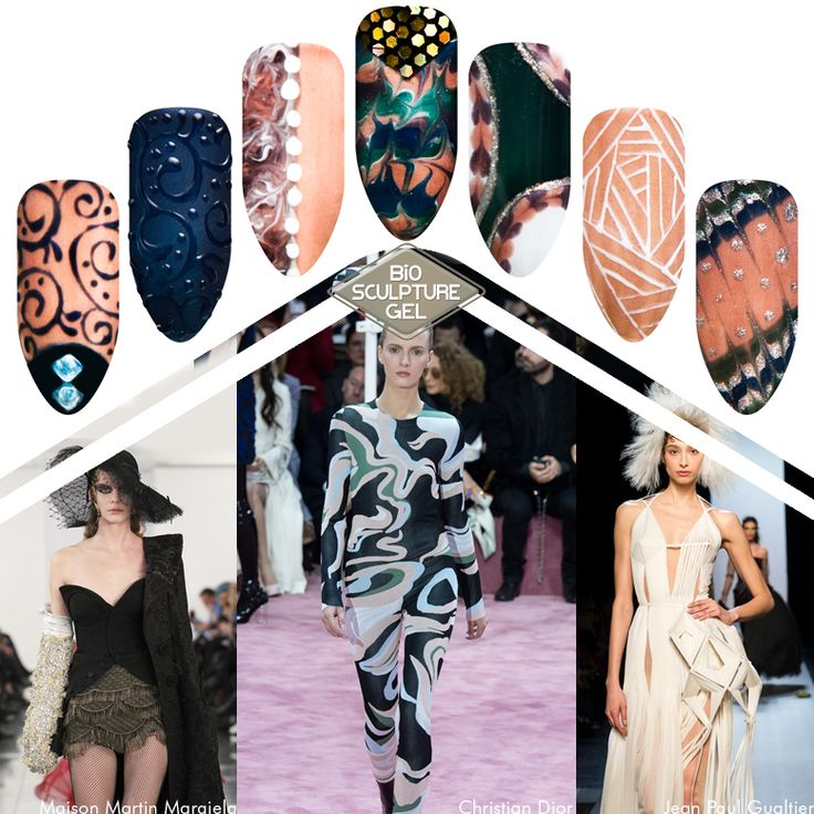 2015 Couture - Bio Sculpture Gel - Nail Art