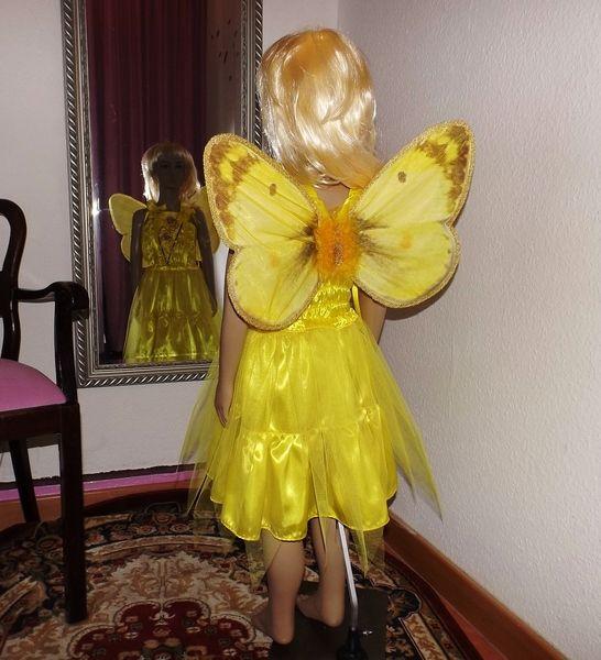 Faschingskostüm Schmetterling, Elfe, Fee, 46 J