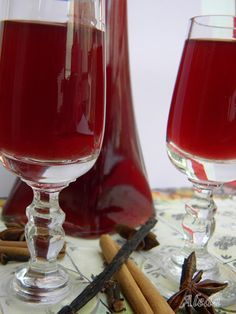 Aleda konyhája: Fűszeres borlikőr