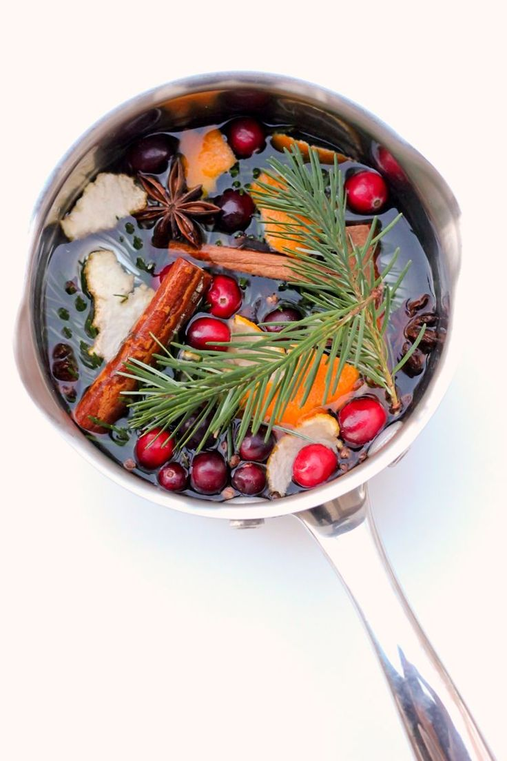 One of my favorite, favorite things to do during the holidays is make stove top potpourri. Memories are so strongly linked to smells. One whiff of some whole cloves and orange peels, and I feel cheerful coziness wrap my heart up in Christmas memories. It's the best! This year, I figured…why not share this happy …: