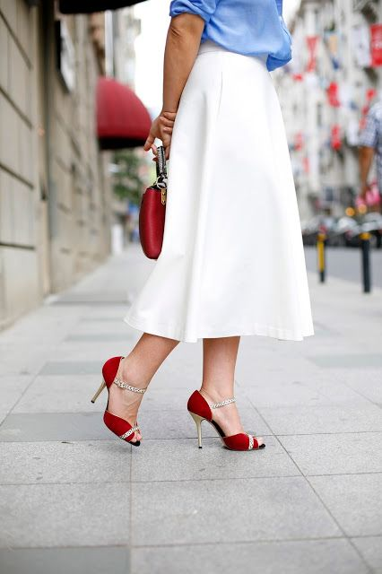 street style oscar de la renta shoes