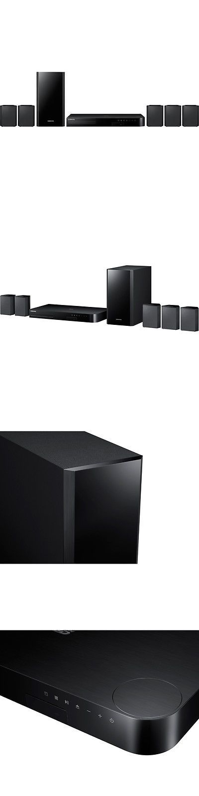Home Theater Systems: Samsung Ht-J4500 Za 500 Watt 5.1 Channel 3D Blu-Ray Home Theater System -> BUY IT NOW ONLY: $184.88 on eBay!