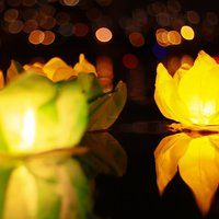 Купить плавающие водные фонарики в магазине Небофон
