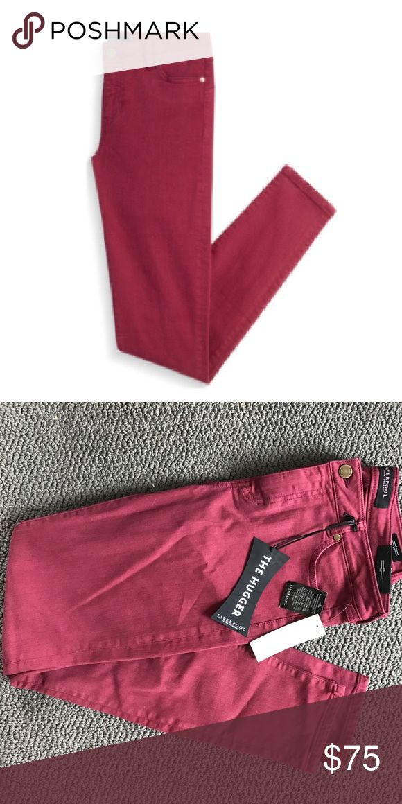 Red Liverpool Adele Skinny Jeans Red Liverpool Adele Skinny Jeans Liverpool Jeans Company Jeans Skinny