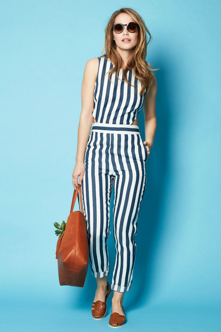 17 Best ideas about Striped Jumpsuit on Pinterest | Jumpsuit ...