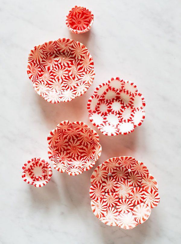 Peppermint bowls step by step instructions. For cookie decorating party?