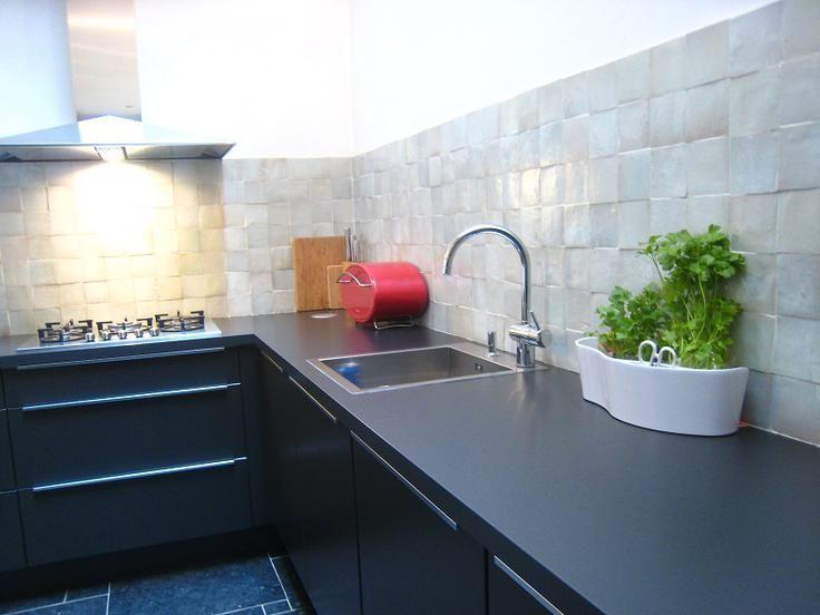 Meer dan 1000 idee n over achterwand tegel op pinterest moza ek betegelde badkamers keuken - Onderwerp deco design keuken ...