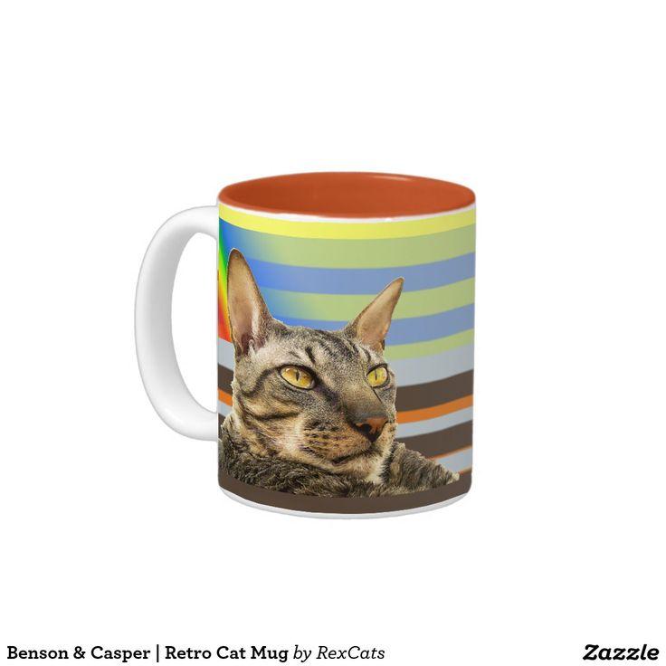 Benson & Casper | Retro Cat Mug