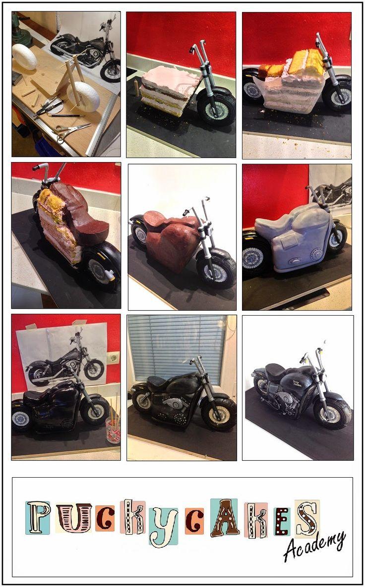 PAP Moto Harely Davidson - Puckycakes