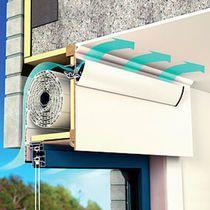 Ventilación de ventana autorregulable / de corte térmico / con pantalla de protección solar integrada
