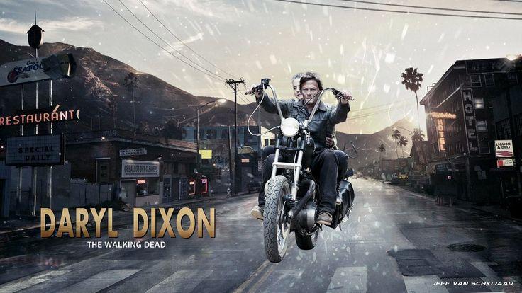 Daryl Dixon The Walking Dead Wallpaper By Jeffery10